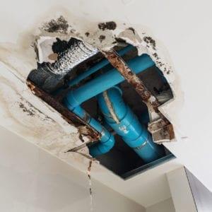 Ceiling Water Damage Repair Charlotte