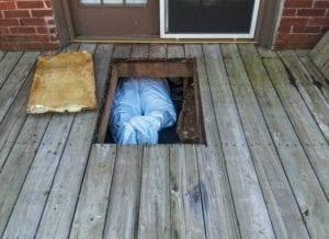 Crawl Space Water Damage Repair in Lake Norman NC Crawlspace Water Damage Restoration