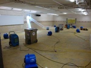 Flood Damage Cleanup in Gastonia NC Emergency Flood Damage Restoration